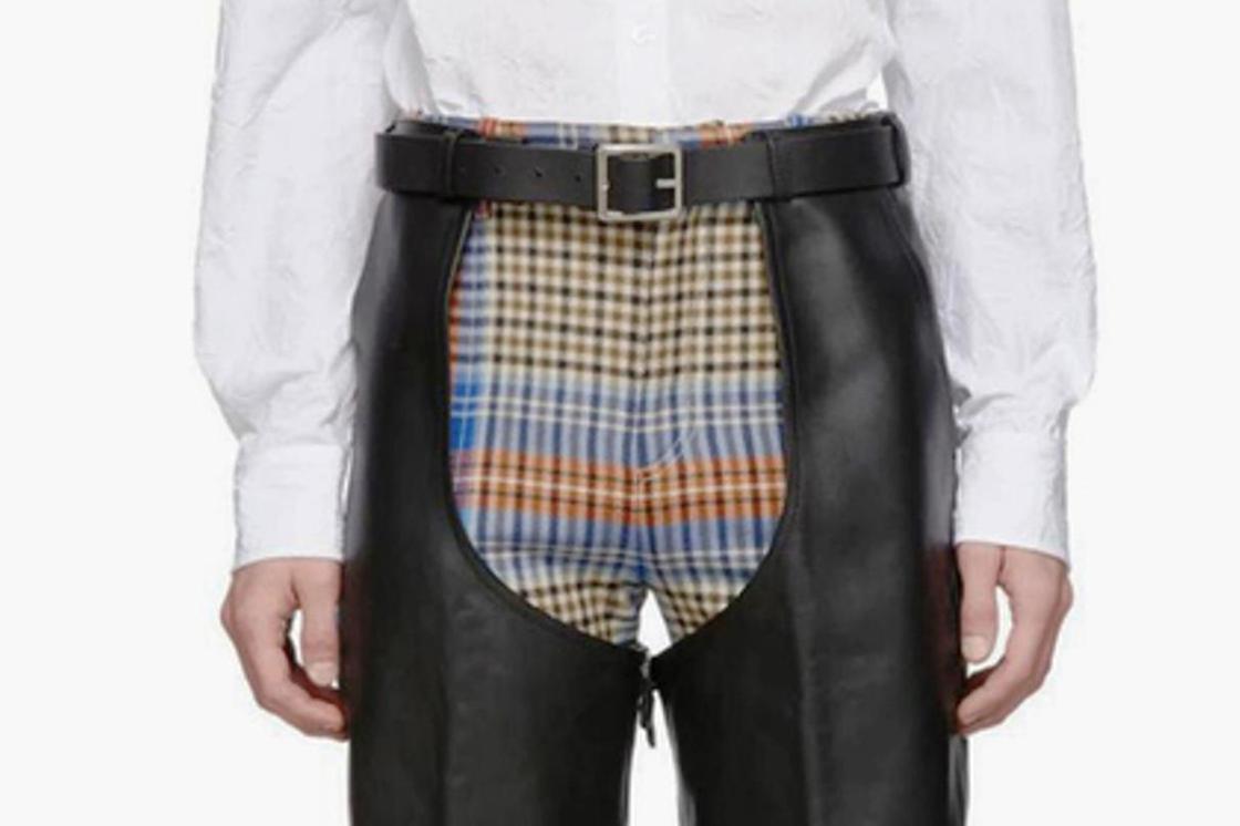 Мужчинам предложили носить оголяющие пах штаны за четыре тыс. долларов