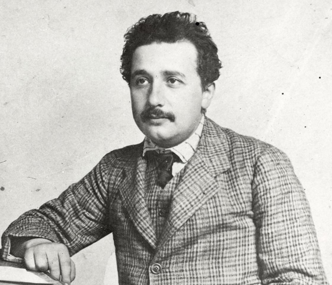 Эйнштейн молодой