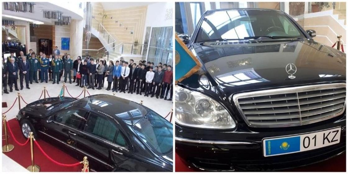Один из первых служебных автомобилей Назарбаева выставили в музее в Темиртау