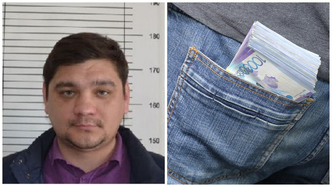 Угрожая ножом преступник похитил из обменного пункта 10 млн тенге в Нур-Султане