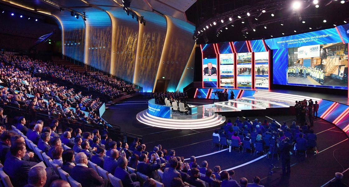 Назарбаев: Мы создаем условия для высокого качества жизни казахстанцев