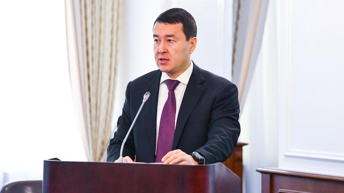 Әлихан Смайылов. Фото: primeminister.kz
