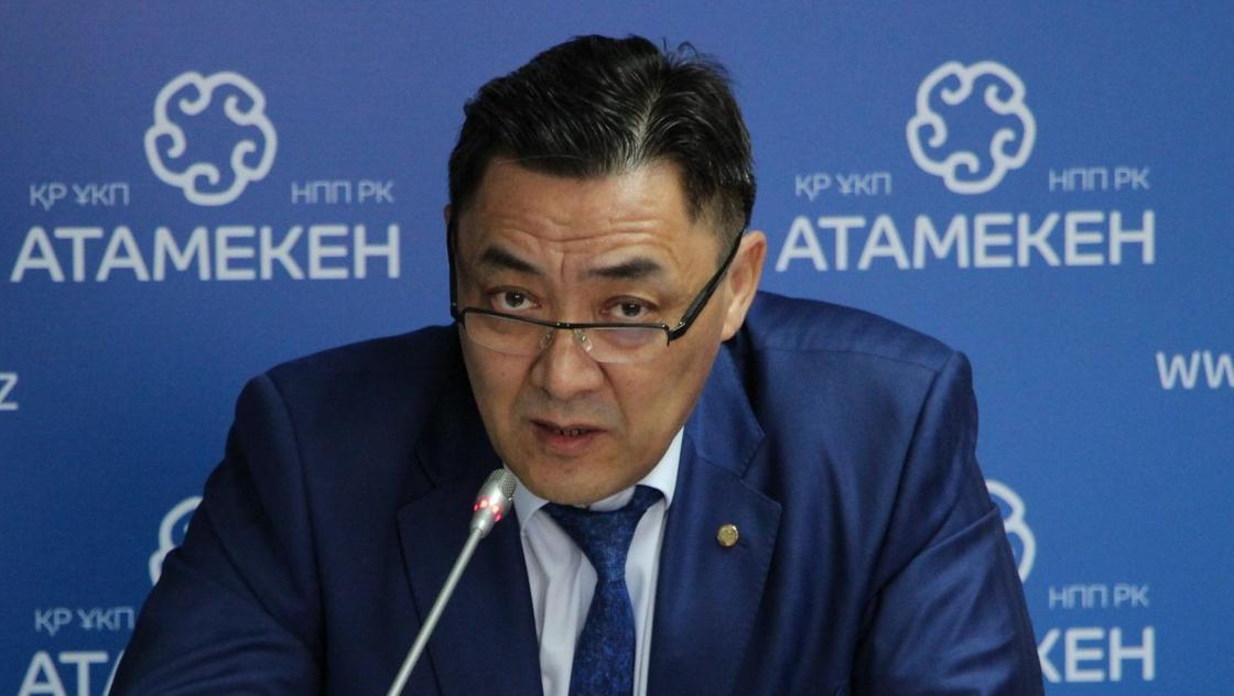 Шоқан Елшібеков. Фото: atameken.kz