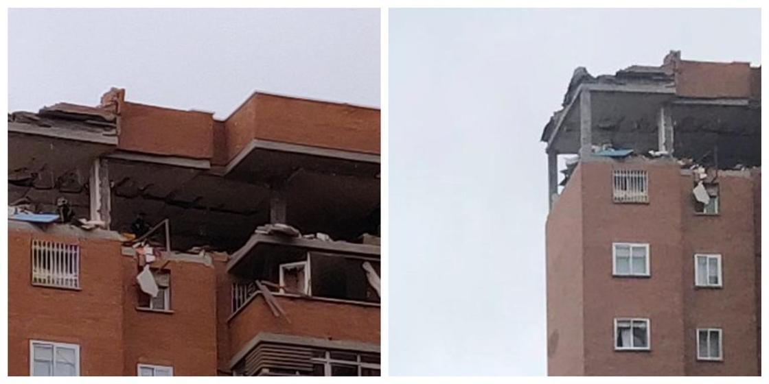 Мадридтегі көпқабатты тұрғын үйде күшті жарылыс болды (фото, видео)