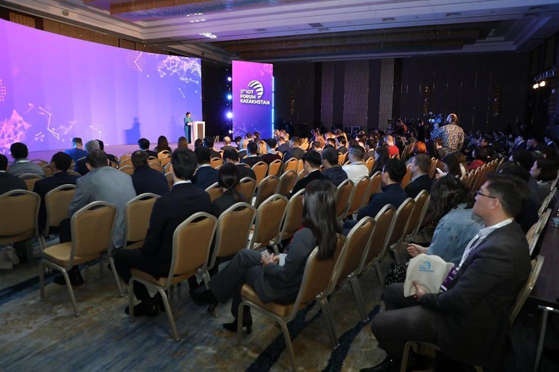 Развитие интернета вещей обсудили на IoT Forum в Нур-Султане