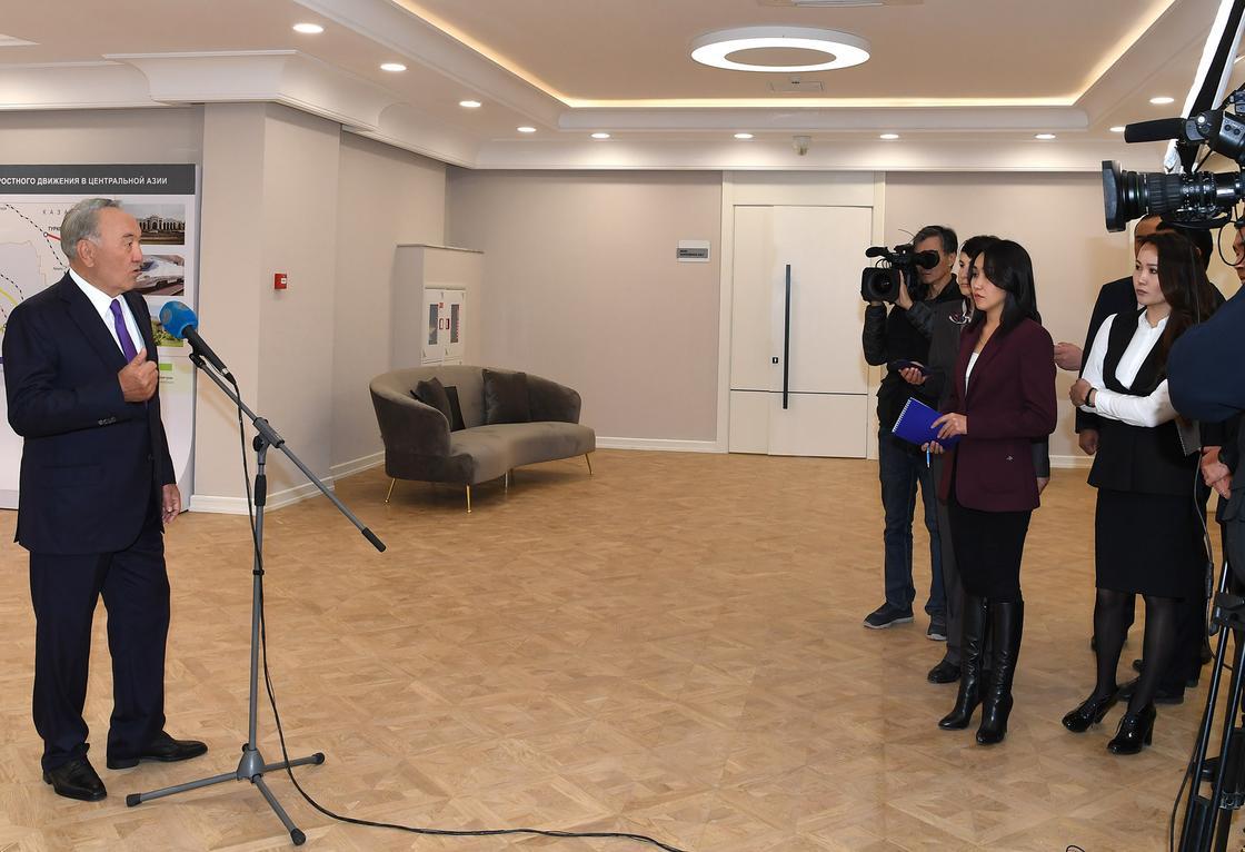 Нұрсұлтан Назарбаев. Фото: Елбасы сайты
