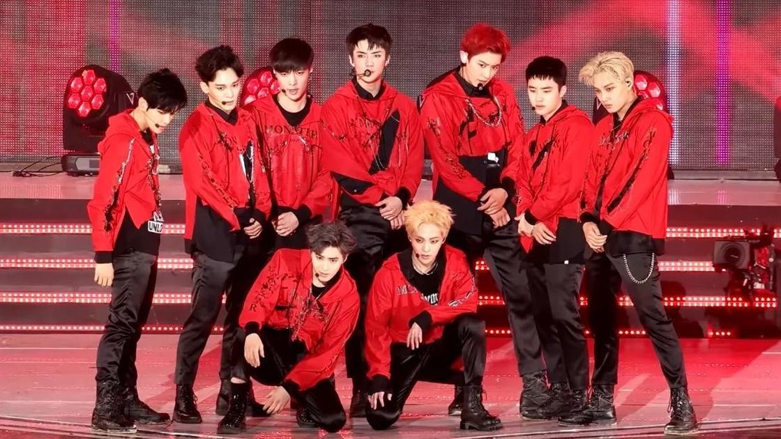 группа EXO: история успеха
