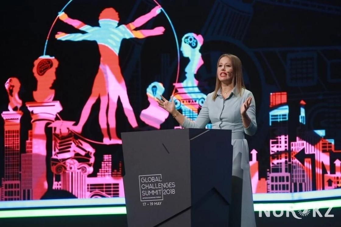 Ксения Собчак рассказала про особый менталитет Казахстана