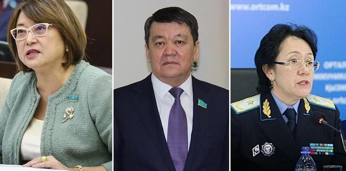Казахстанские сенаторы высказались о секс-скандале с депутатом Слуцким