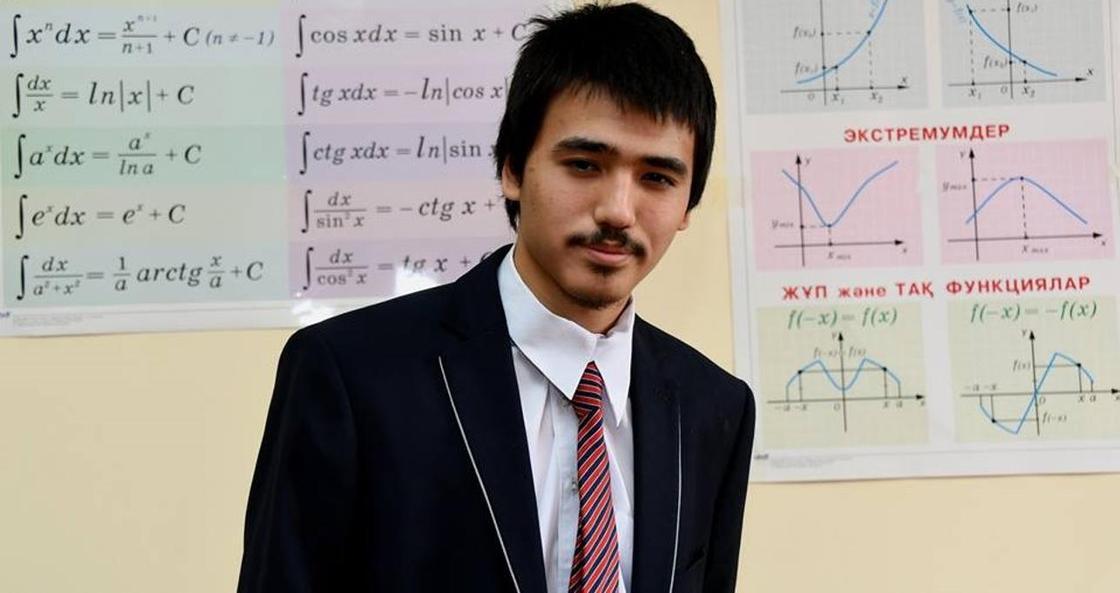 Казахстанский школьник установил уникальный рекорд