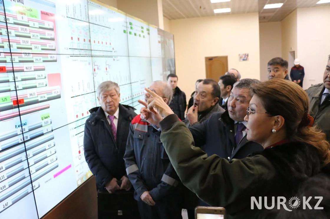 Дарига Назарбаева о ТЭЦ в Астане: К вам приходишь – сразу депрессия начинается