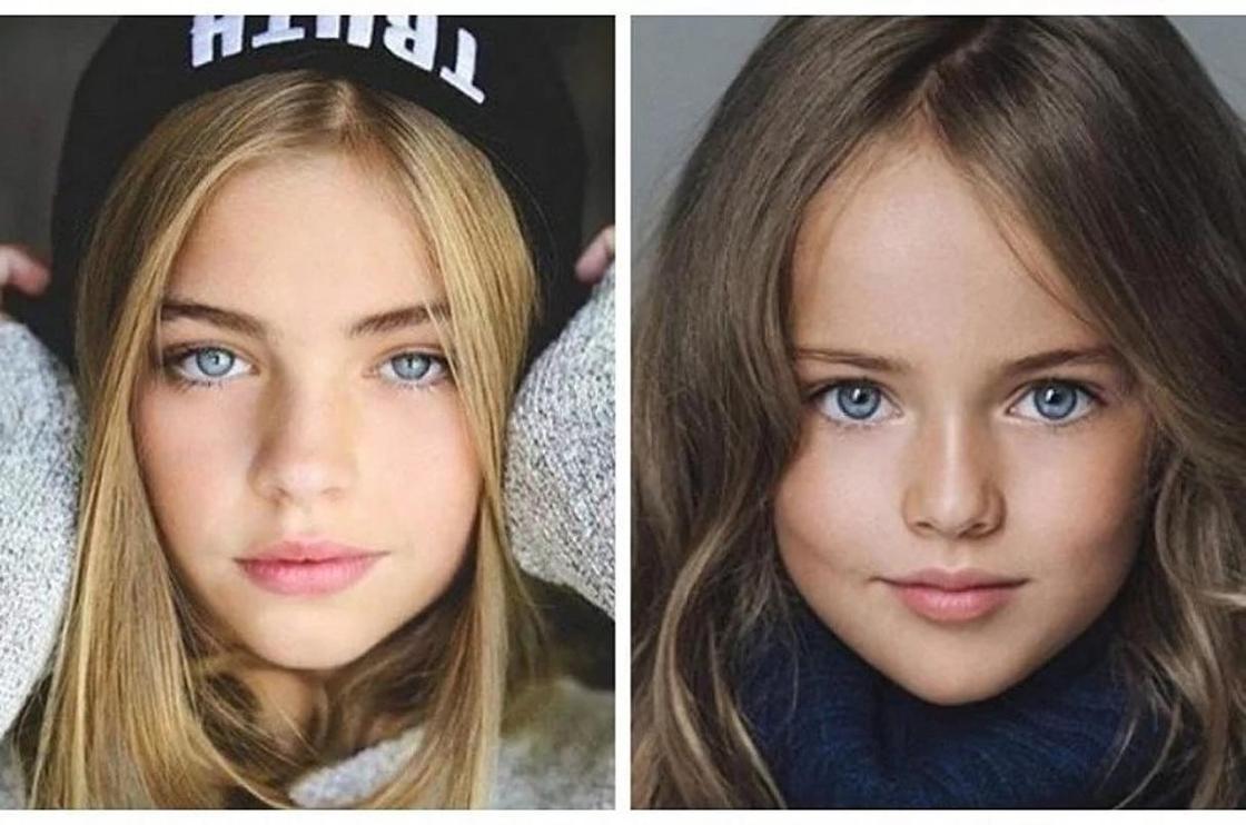Повзрослевшие самые красивые дети мира