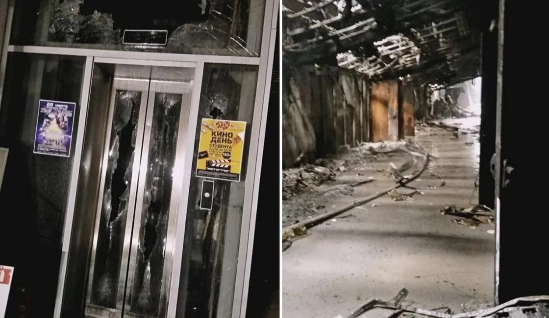 Пожар в Кемерово: появились первые фото из торгового центра