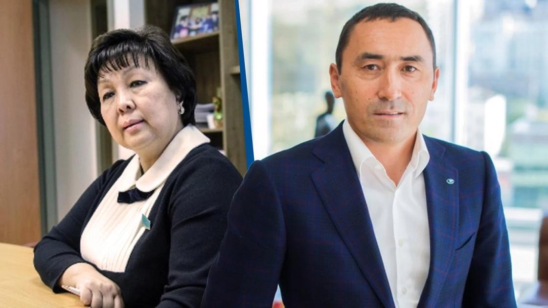 Айдын Рахимбаев и Загипа Балиева. Коллаж NUR.KZ