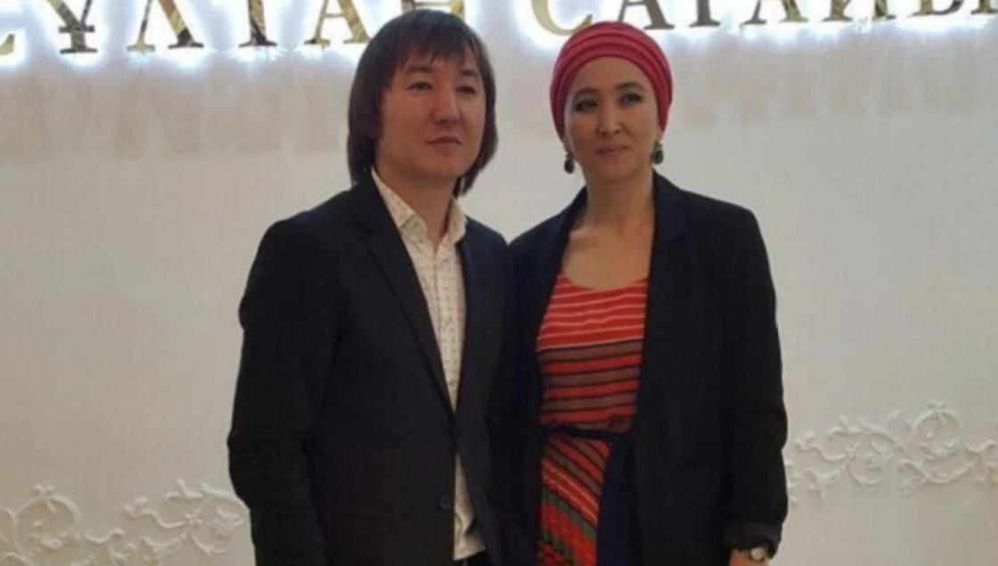 Нурлан Еспанов с женой. Фото: comode.kz
