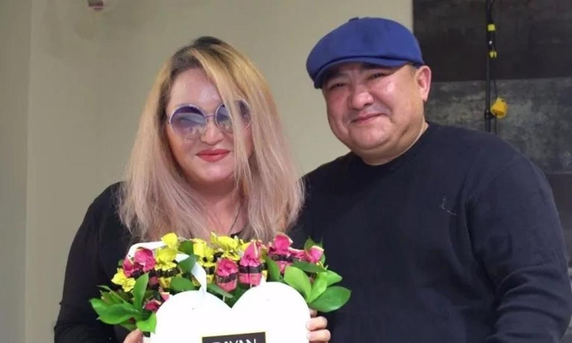 Багым Мухитденова и Адильжан Юсупов. Скриншот: gakku.tv