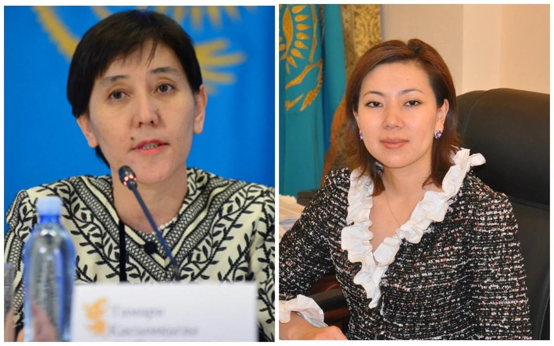 Дуйсенова освобождена от должности министра труда и соцзащиты