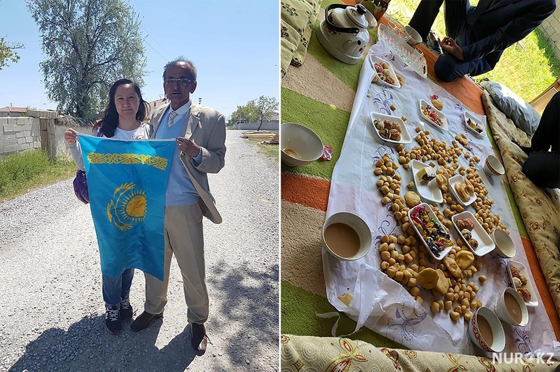 Казахский аул