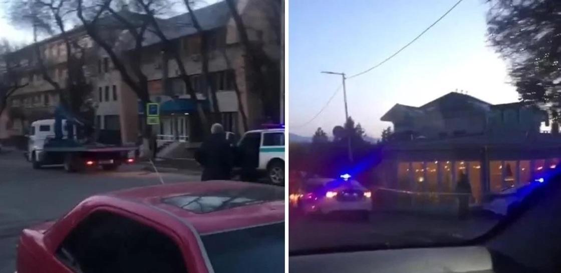 Неизвестный опять «заминировали» здание суда и кафе в Алматы (видео)