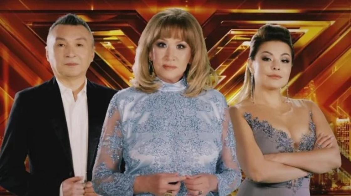 Члены жюри X-Factor. Фото: NUR.KZ