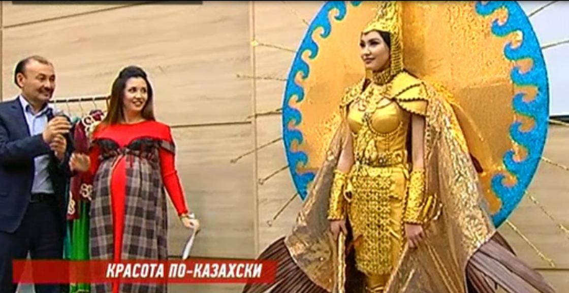 Кристаллы Сваровски, огромные крылья: 30 кг весит костюм алматинки, представляющей Казахстан на «Мисс Вселенная»