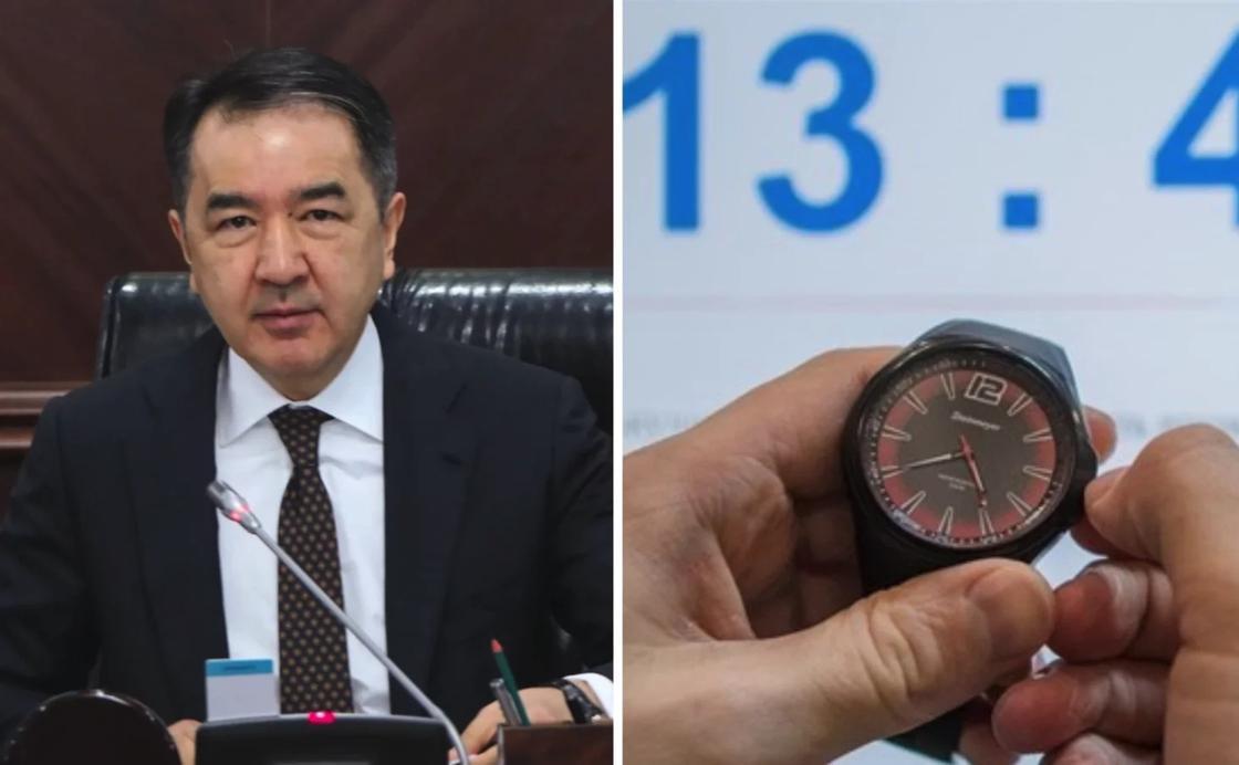 Сагинтаев ответил на просьбы изменить часовые пояса в двух областях
