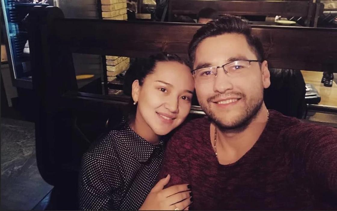 Салтанат Бакаева с мужем. Фото: Instagram