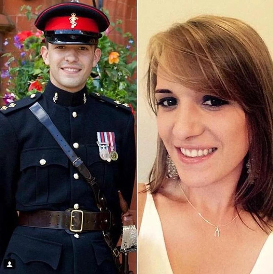 Сменившая пол женщина-офицер вышла замуж за актера, который раньше был девушкой