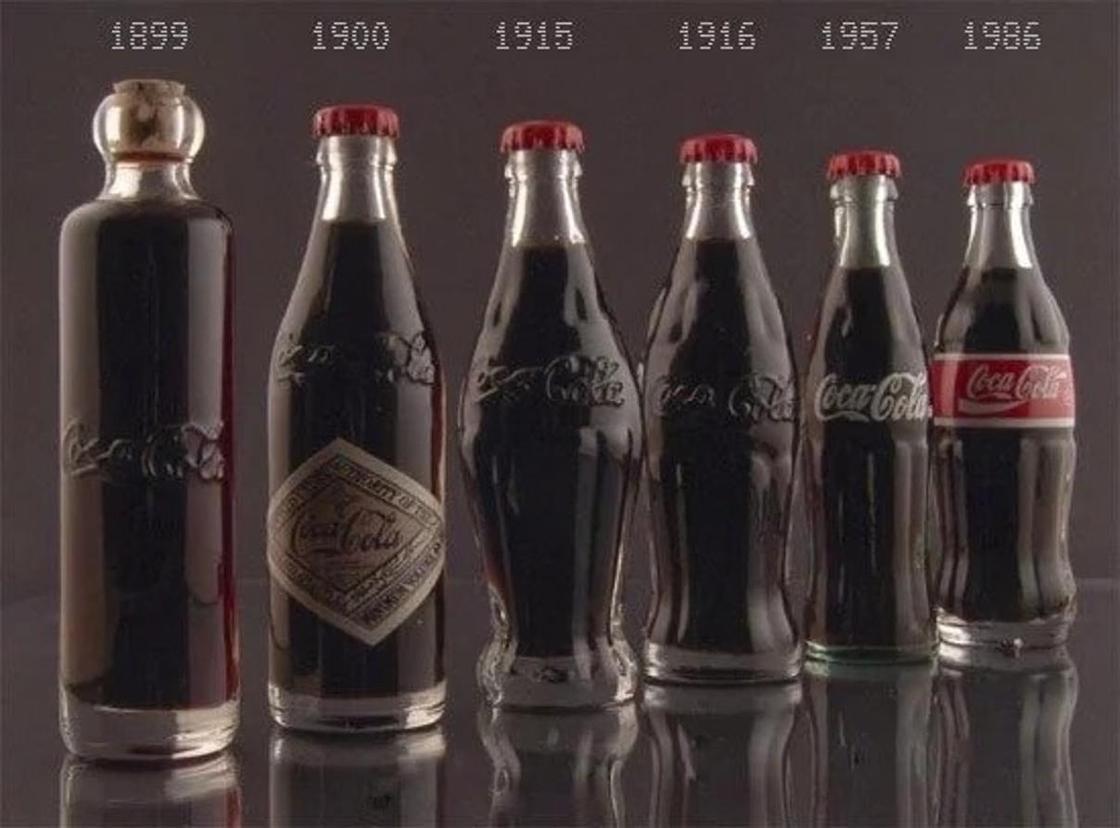 Бутылки колы