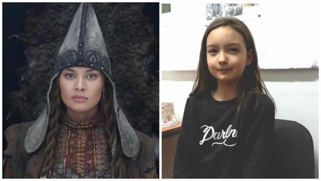 Лия Фомина была выбрана среди 15 000 претенденток на роль 10-летней Томирис