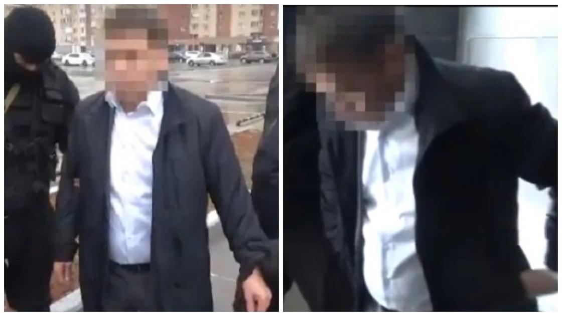 Главу таможни аэропорта Астаны поймали на контрабанде ювелирных изделий (видео)