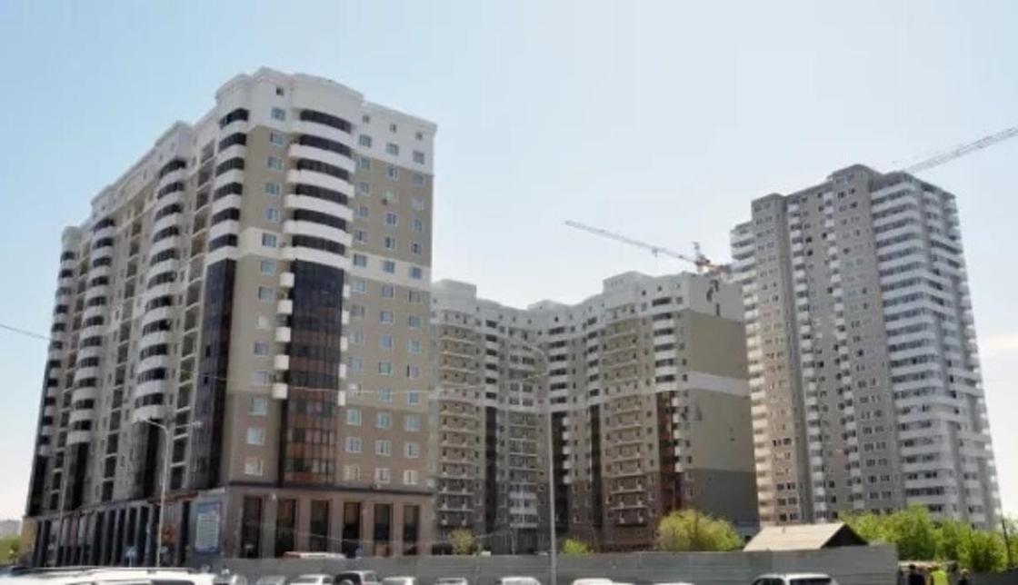 """ЖК """"Рахат"""" находится по адресу улица Иманова, дом 26. Фото сайта kn.kz"""