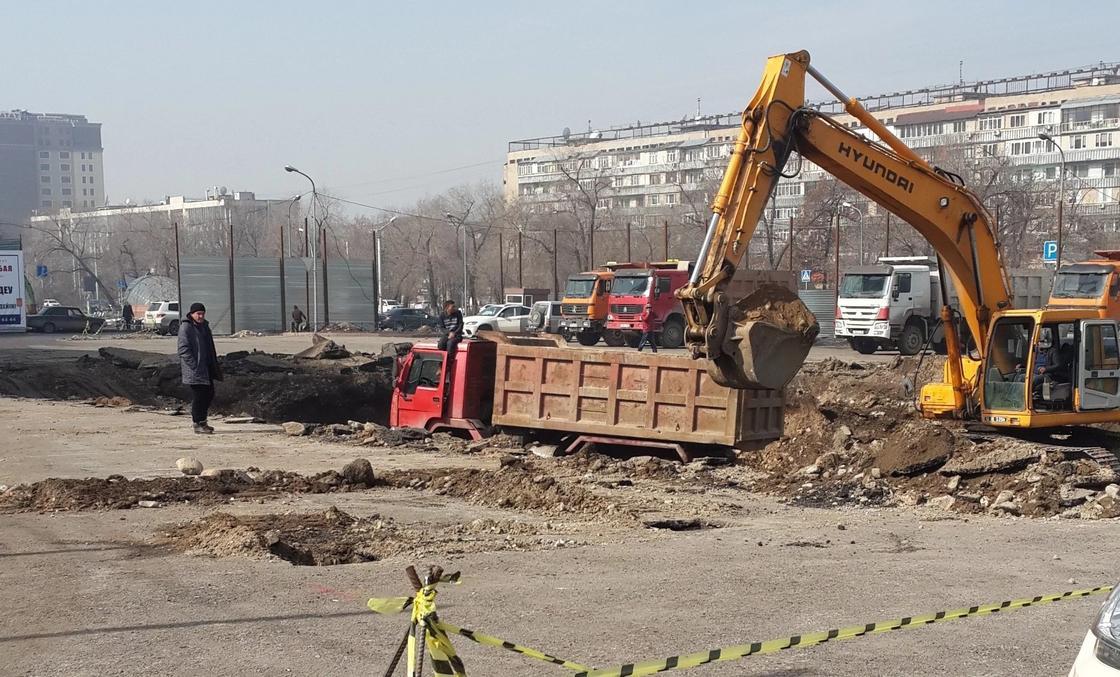 """Байбек рассказал, какое здание построят близ станции метро """"Алатау"""""""