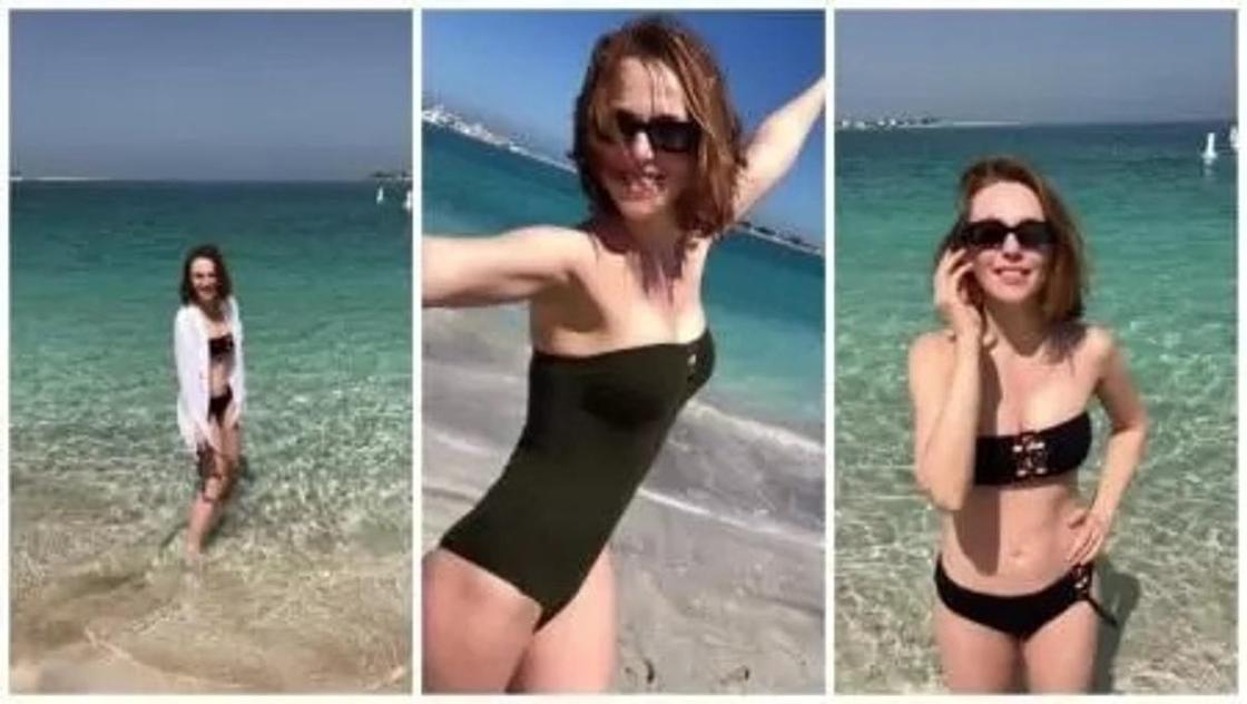 Рай на Земле: Жена Валерия Меладзе похвасталась фигурой в купальнике