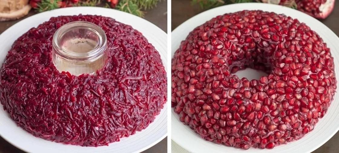 Салат «Гранатовый браслет»: рецепт классический