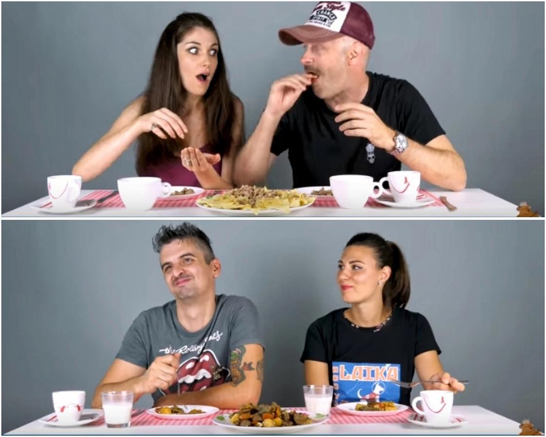 Какая гадость или бомбезная вкуснятина: итальянцы попробовали казахскую еду (видео)