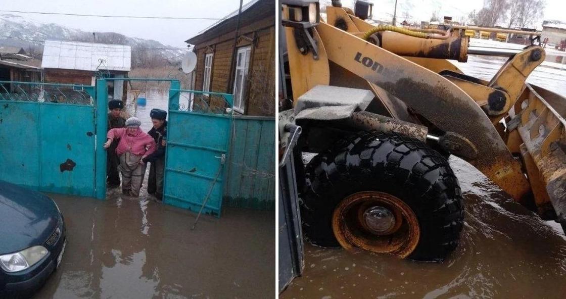 Более 70 домов подтоплены в Семее (фото, видео)