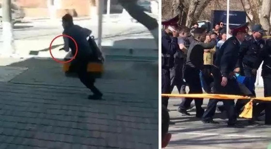 Стрельба в Кызылорде: полицейские возбудили второе уголовное дело