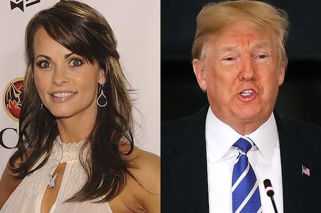 Экс-модель Playboy рассказала об интимных отношениях с Трампом