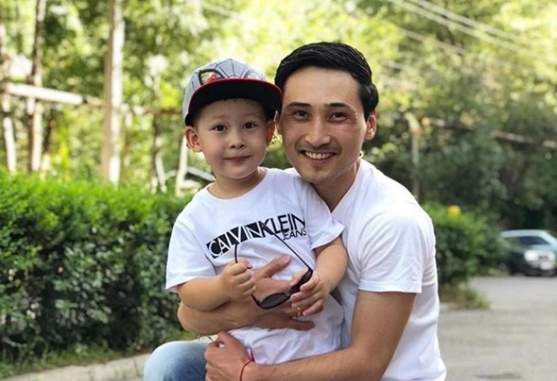 Мурат Мутурганов с сыном Майклом. Фото: Instagram