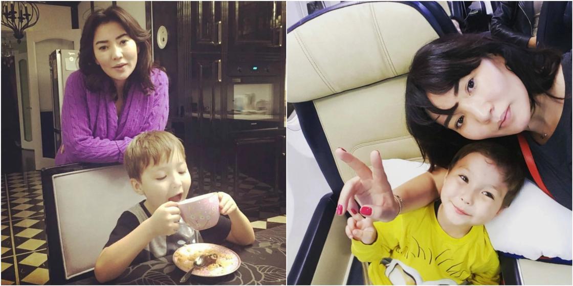 Телеведущая Айгуль Мукей готовится второй раз стать мамой (фото)