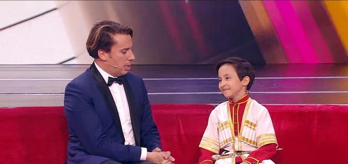 «Всегда выхожу с криком»: восьмилетний казахстанец покорил Максима Галкина