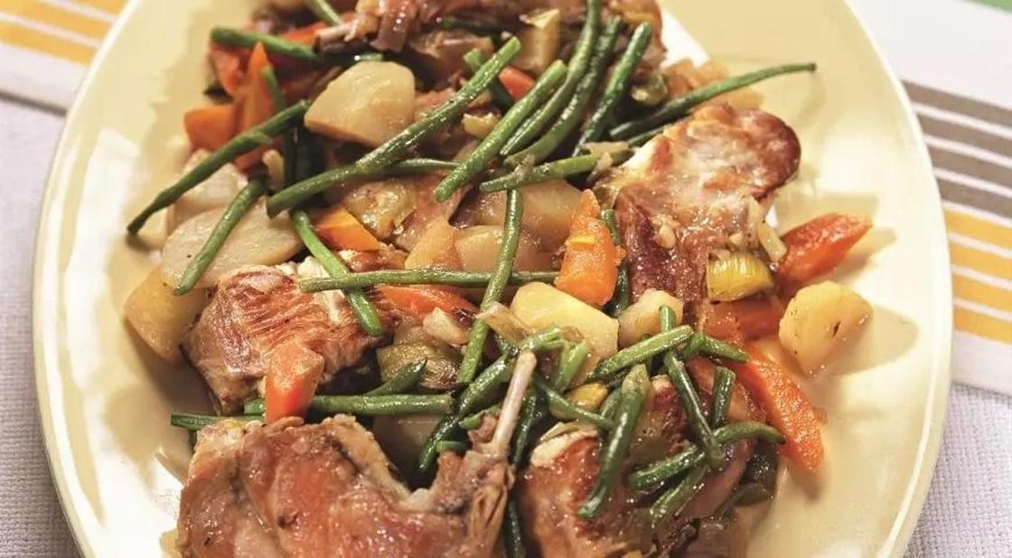 Горячие блюда из мяса кролика