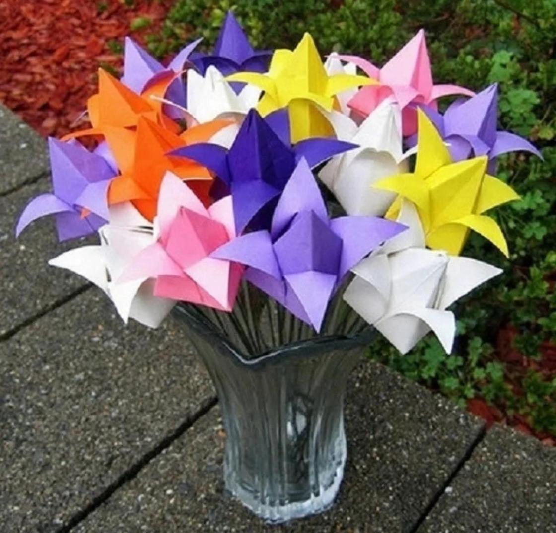 Как сделать тюльпан из бумаги: пошаговая инструкция