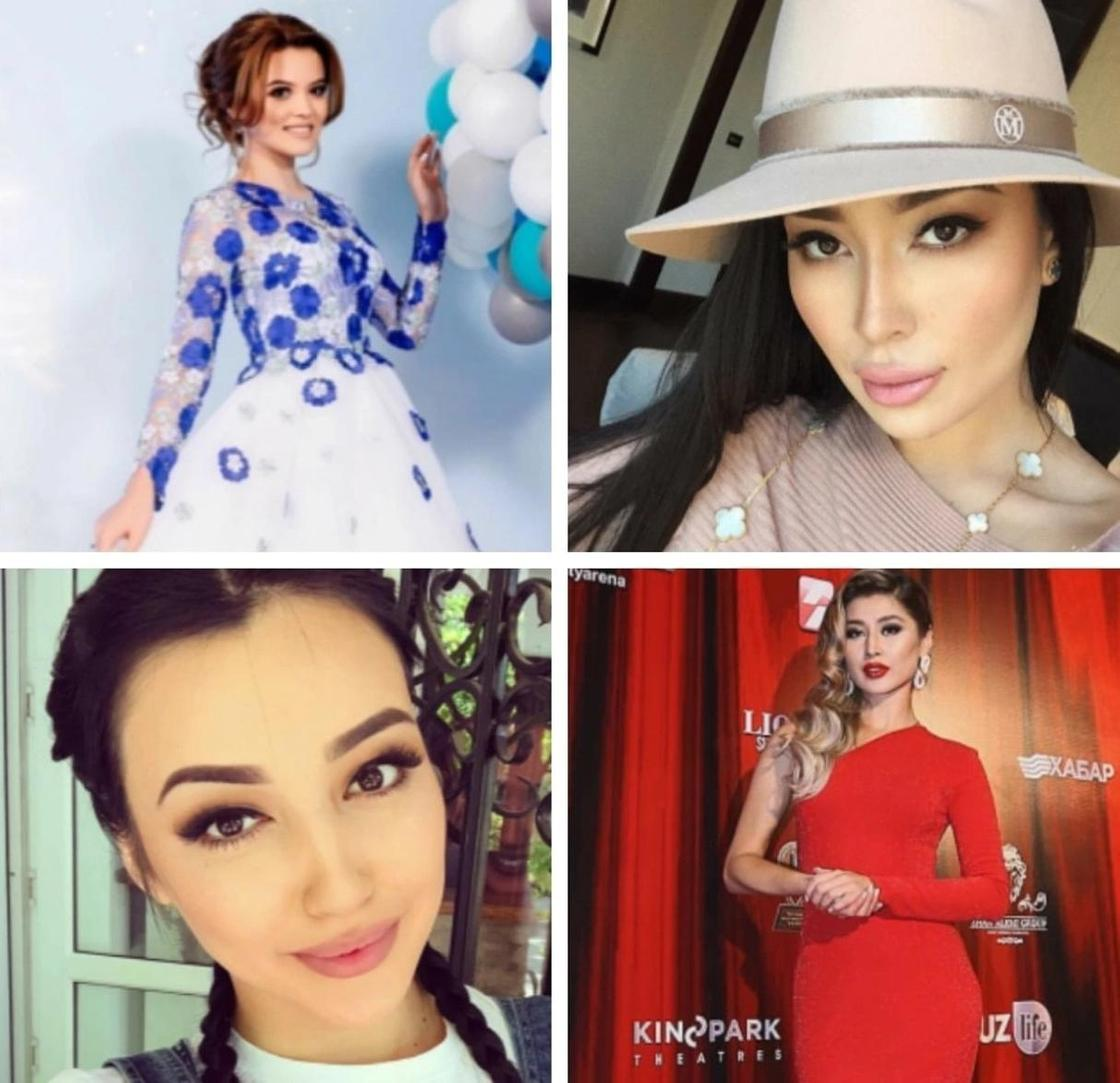 Казахстанские Instagram-звезды. Фото: Instagram