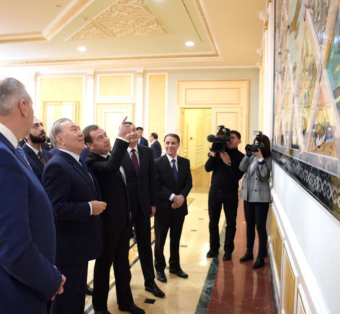 Назарбаев ТМД елдері үкімет басшыларының кеңесіне қатысты