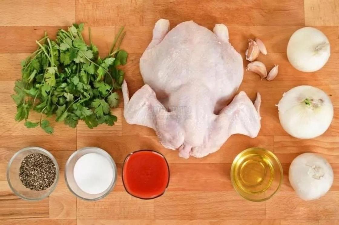 Чахохбили из курицы: рецепт по-грузински