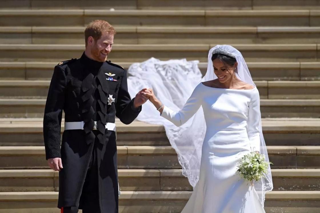 Невеста Меган Маркл задала новый свадебный тренд