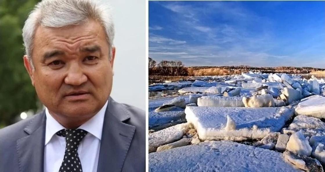 """""""Взрывать лед мы будем дальше"""": аким Семея высказался о ситуации в регионе"""
