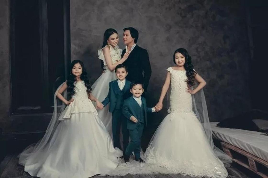 Кайрат Нуртас и его жена Жулдыз: история любви